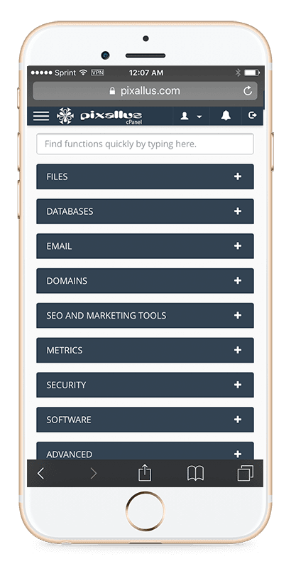 pixallus web hosting Raleigh