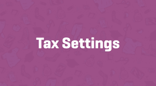 woocommerce - tax settings