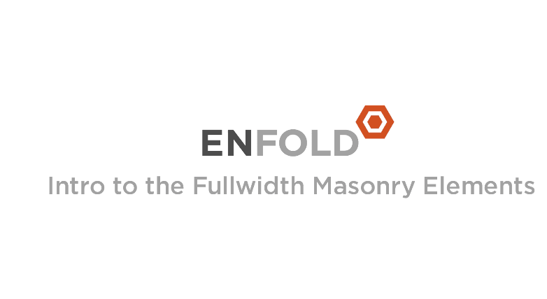 enfold masonry