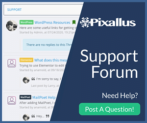Pixallus Support Forum