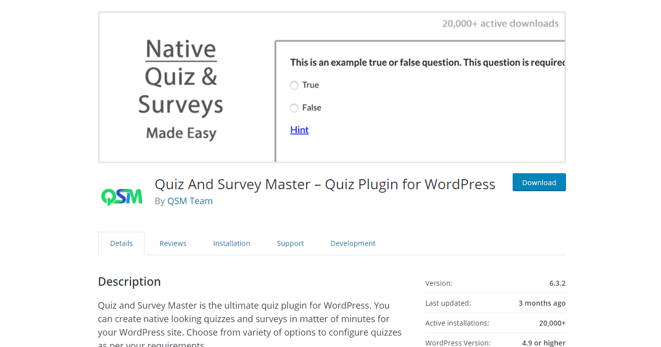 8 Best WordPress Survey Plugins 2019 8