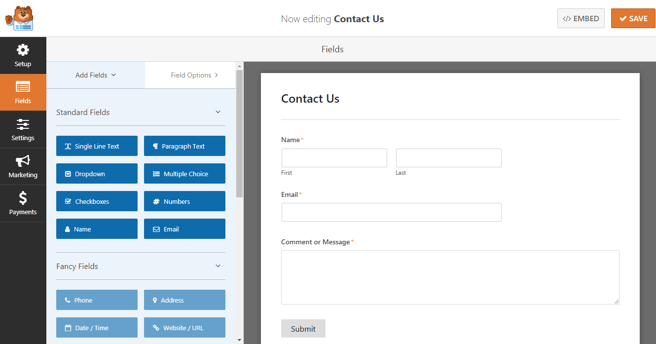 How to Add a Contact Form in WordPress (The Easy Way) 4