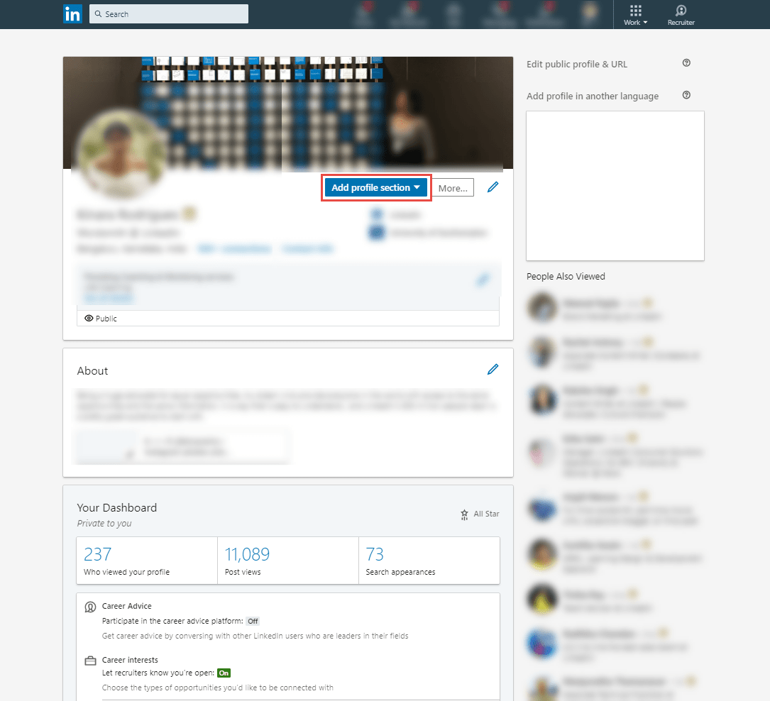 how to optimize your LinkedIn Profile