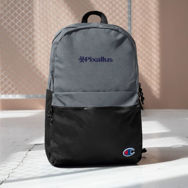 Embroidered Champion Pixallus Backpack