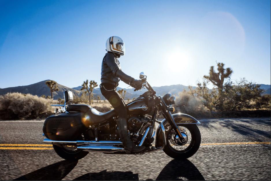 photo of guy in motorcycle