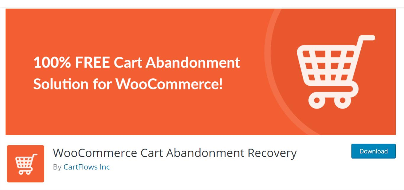 WooCommerce Cart Abandonment Recovery by CartFlows.