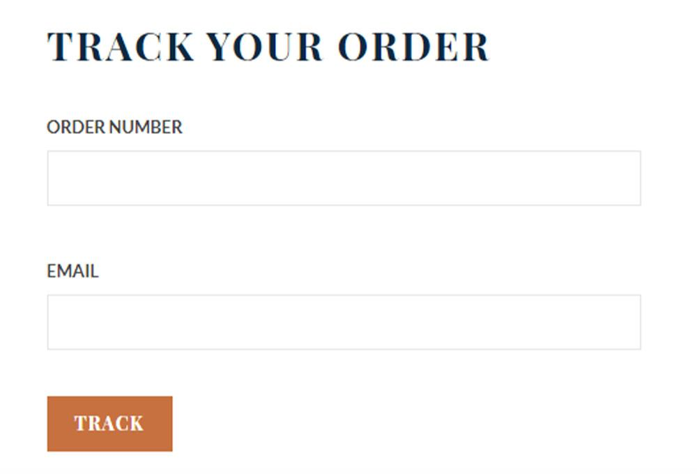 Track the order image