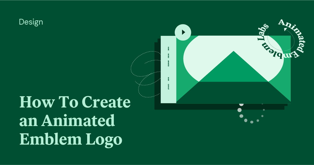 How To Create an Animated Emblem Logo With Elementor 3