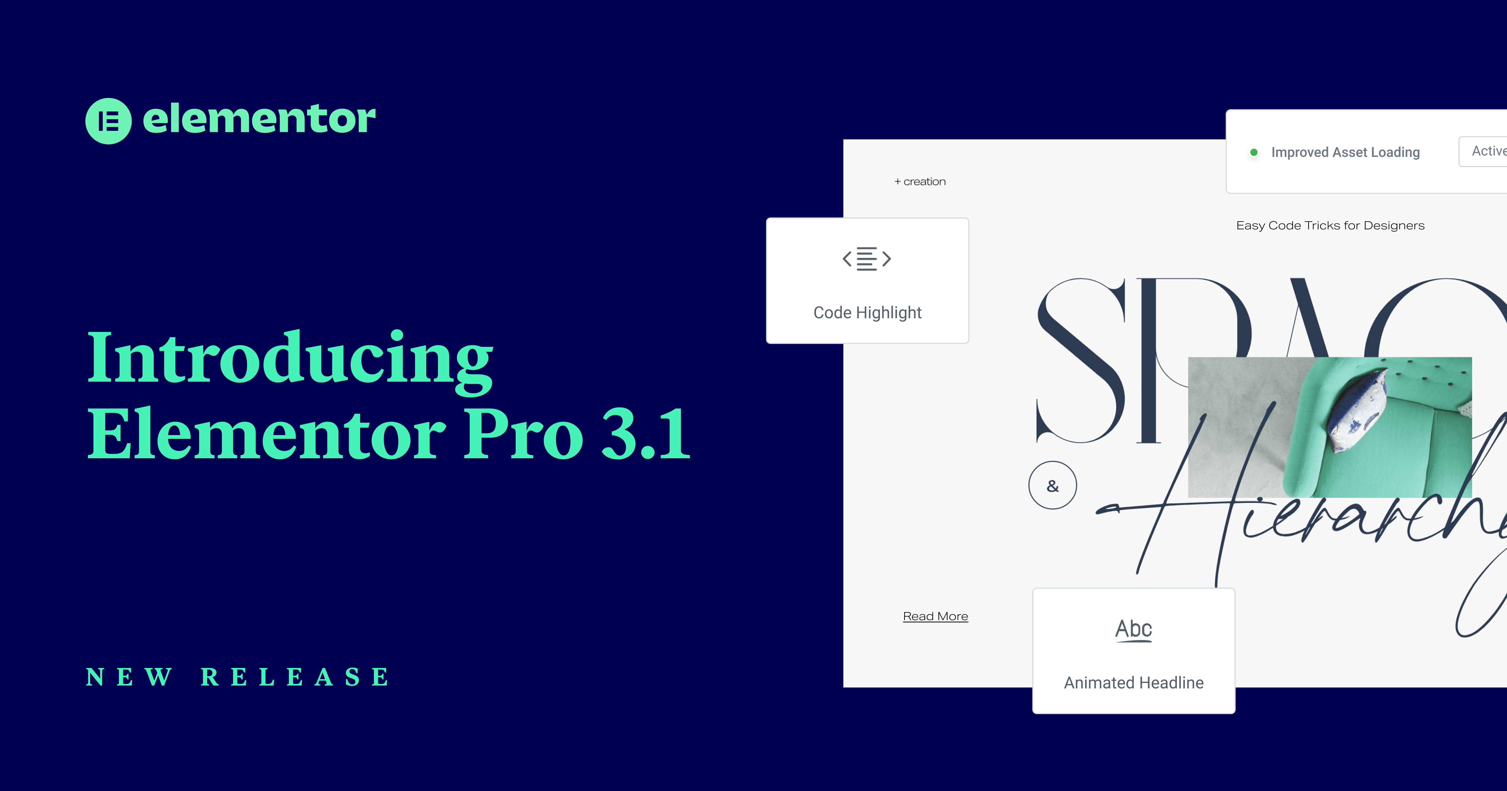 Introducing Elementor Pro 3.1: Custom Code, Performance Improvements, and More! 3