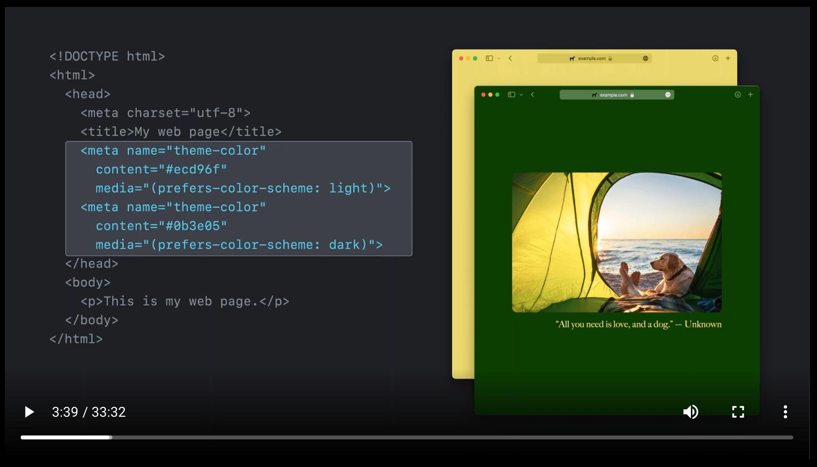 Safari 15: New UI, Theme Colors, and… a CSS-Tricks Cameo! 6