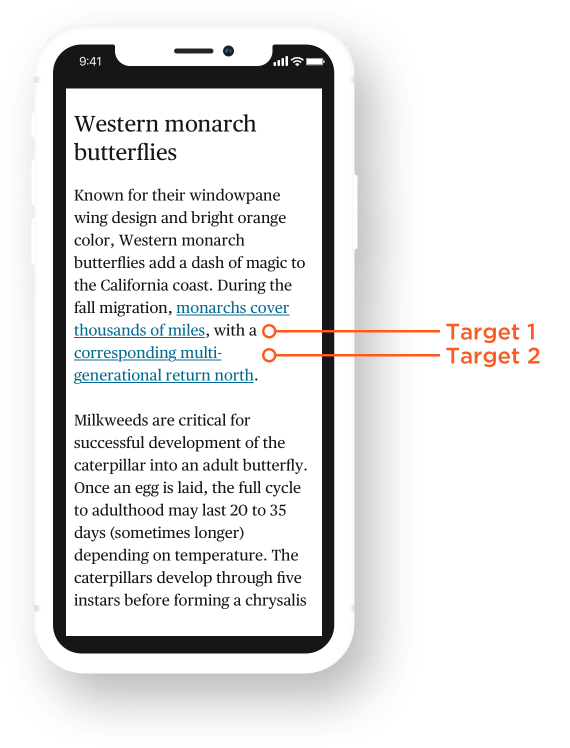 Looking at WCAG 2.5.5 for Better Target Sizes 27