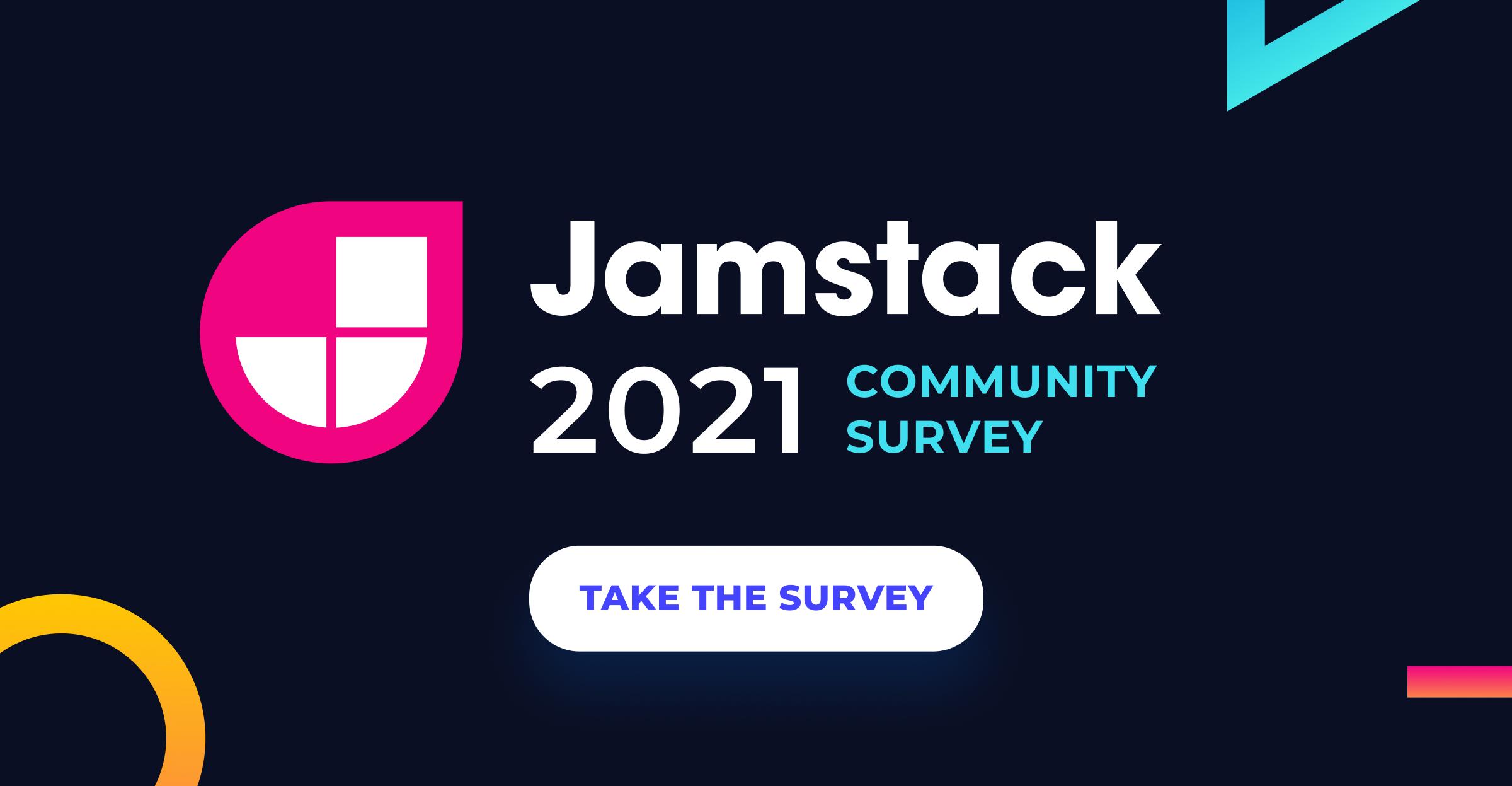 Jamstack Community Survey 2021 3