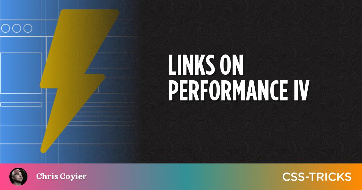 Links on Performance IV 3